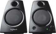 Logitech 980-000418 Casse PC 2.0 Potenza 5 Watt Jack 3,5mm Nero  LGT-Z130