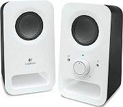 Logitech Casse 2.0 per PC  Mp3 Potenza 3 W (RMS) Bianco 980-000815 Z150