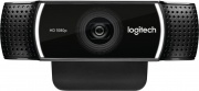 Logitech 960-001088 Webcam Full HD Fotocamera USB Compatibile Android Nero C922 Pro Stream