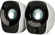 Logitech SPEAKERS Z120 Casse 2.0 per PC  MP3 Notebook USB col. Nero  Argento Z120
