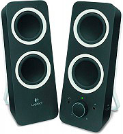 Logitech SPEAKERS Z200 Casse per PC 2,0 Potenza 10 Watt Jack 3,5mm Nero - 980-000810 Z200