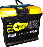 LongLife Batteria Auto 45 Ah 400 A - MV+ Longlife
