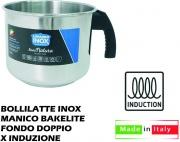Lopardo Inox 990028 Bollilatte Bricco Inox cm 14 per Induzione