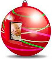 "Lovemytime Cornice digitale portafoto 1.44"" USB MAGICCHRISTMAS EM090328938"