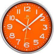 LOWELL 00940O Orologio da Parete ø 25.5 cm colore Arancio