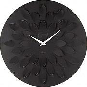 LOWELL 07411N Orologio da Parete ø 45 cm colore Nero