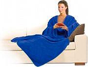 MACOM Coperta con maniche 140 x 180 cm Plaid Colore Blu Scuro - Morby 900DB