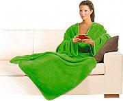 MACOM Coperta con maniche 140 x 180 cm Plaid Colore Verde - Morby 900G