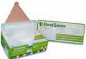 FOODSAVER BAGS 32 Confezione 32 sacchi sacchetti Sottovuoto 28x36 FOODSAVER