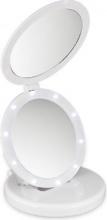 MACOM ECLIPSE 212 Doppio Specchio luminoso Make Up Trucco Led Bianco