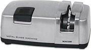MACOM Affilacoltelli Elettrico col. Nero Argento METAL BLADE MACHINE 815