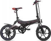 MACROM M-EBK16F Bicicletta elettrica E-bike Pieghevole 250W Nero  Portofino