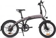 MACROM M-EBK20F Bicicletta elettrica E-bike Pieghevole 250W Nero  Milano 20