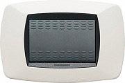 MASTER Placca Placchetta Elettrica Copri Interruttore 3Posti Bianco Modo 39TC103