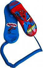 MASTER A14569 Telefono Fisso con Filo Bambini fantasia Spiderman