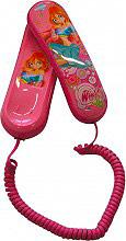 MASTER A14571 Telefono Fisso con Filo Bambini fantasia Winx Bloom