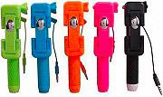 MASTER BTS03 Bastone Selfie Telescopico mini Asta Selfie Stick Colori Assortiti