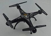 MASTER DRONE5 Drone camera Quadricottero 6 Assi Luci LED Nero