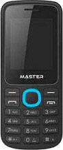 MASTER Telefono Cellulare GMS Dual SIM Fotocamera Radio FM Blu - MF014