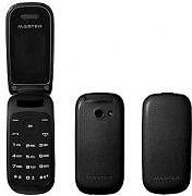 "MASTER MF016 Telefono Cellulare GSM Dual Band display 1,8"" Radio FM Nero"