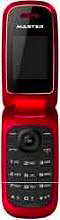 "MASTER MF016 Telefono Cellulare GSM Dual Band display 1,8"" Radio FM Rosso"