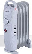 MASTER Termosifone Elettrico Radiatore ad Olio Stufa Mini 5 Elementi 650W OR5650