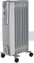 MASTER Termosifone Elettrico Radiatore ad Olio Stufa 7 Elementi 1500W OR7-1500
