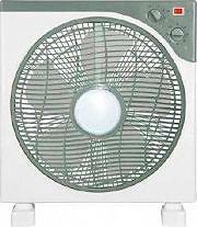 MASTER VEB12 Ventilatore da Tavolo da Terra a Pale Box Fan Timer ø 30cm