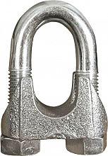MC Morsetti per funi ø 14 mm dimensione 916 confezione 25 pz MO14