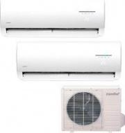 MIDEA Condizionatore Inverter Pompa Calore Dual Split 9+12 Btu - NOVA DUAL 9+12