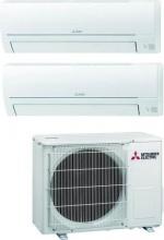 MITSUBISHI MSZ-HR25VF35VF+ MXZ-2HA40VF Climatizzatore Dual Split Inverter 9 + 12 Btu Condizionatore MSZ-HR