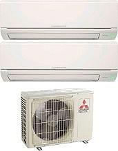 MITSUBISHI Condizionatore Inverter Pompa Calore Dual Split 9+12 Btu - MXZ-2DM40VA