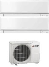 MITSUBISHI MXZ-2F53VF + 2 x MSZ-EF35VGKW Climatizzatore Dual Split Inverter 12+12 Btu A+++A++ Serie MSZ-EF