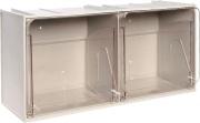 MOBIL PLASTIC CB505S.GC Cassettiera ufficio scrivania 2 Cassetti 600x240x300 cm