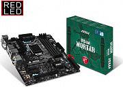 MSI Scheda Madre Socket LGA 1151 Intel B150M MicroATX VGA Integrata B150M MORTAR