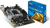 MSI Scheda Madre Socket LGA 1151 B150 Micro-ATX VGA Integrata B150M PRO-VH