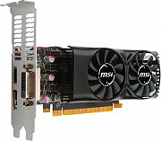 MSI GTX 1050 TI 4GT LP Scheda Video 4 GB GDDR5 DVI  HDMI  Display Port GeForce GTX 1050 Ti