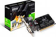 MSI Scheda Video 2 GB GDDR3 Raffreddamento Attivo Nvidia GeForce GT 710 2GD3 LP