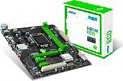 MSI Scheda madre Micro ATX Socket LGA 1150 (H3) DDR3 max 16 Gb HDMI 7817-047R