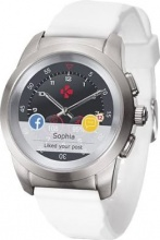 MYKRONOZ ZETIMEORIG Smartwatch Android iOS Orologio Fitness Cardio USB Bianco ZeTime ORIG
