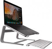 "Macally ASTAND Supporto Stand per Notebook Dimensione Max 17"" Alluminio"