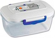 Magic Vac ACO1092 Contenitore per alimenti 1.5 lt Ermetico per microonde