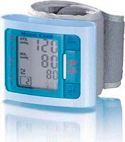 Magic Vac Misuratore di pressione da polso braccio Automatico Display LCD SFG59