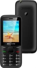 """NEW MAJESTIC 300056 Telefono cellulare Dual Sim 2.4"""" Radio FM SD Nero  Lucky 56"""