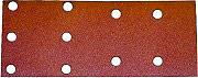 MAKITA P42880 Carta Abrasiva Vetrata Grana P80 per Levigatrici BO 4566 Cf 10 Pz