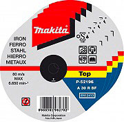 MAKITA P-53001 Disco da Taglio per ferro ø 115 mm Cf 50 Pz