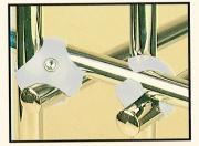 Manart 402.60 grappa per Tubo Vern. Colori Bianco Sx Fig.2 Pezzi 10