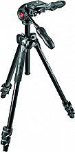"""Manfrotto MK290LTA3-3W Cavalletto Fotocamera Treppiede h max 144 cm 14"""""""