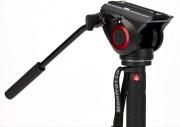 Manfrotto MVMXPRO500 Monopiede video XPRO+ con base fluida e testa video