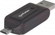 Manhattan 406215 Lettore Multicard MicroSD  SD Connettore USB 3.0